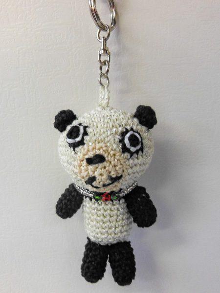 編みぐるみミニミニパンダ